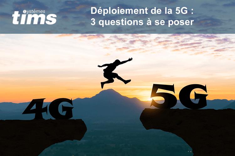 L'arrivée de la 5G