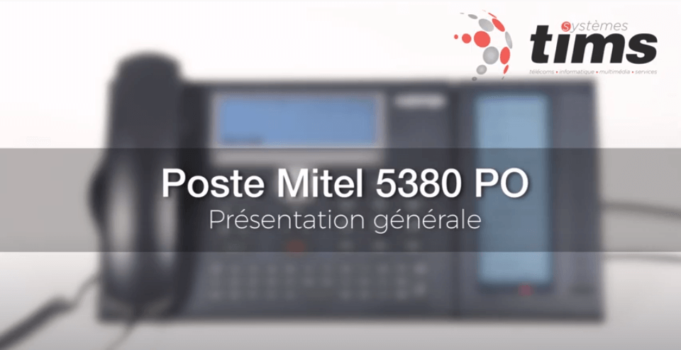 Mitel Aastra 5380 PO - Présentation générale