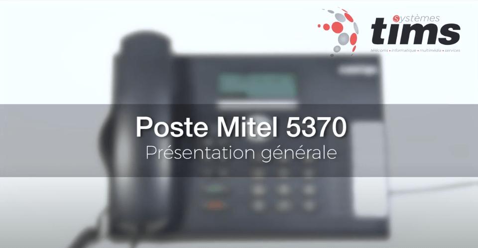 Mitel Aastra 5370 - Présentation générale